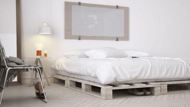 DIY Una cama con palés recuperados